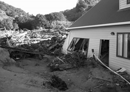 Concrete flood resistance