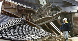 Timber earthquake example